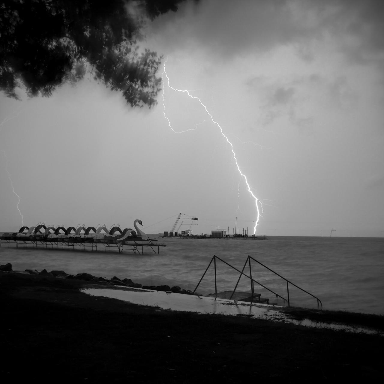 Das Blitzschlag-Paradoxon